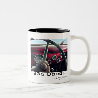 """1936 Dodge"" © 2010 S.J. Two-Tone Coffee Mug"