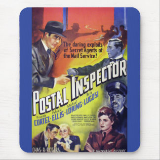 1936 Postal Inspector Mouse Pad