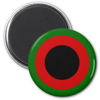 1937-47, Afghan Air Force Roundel 2 Inch Round Magnet