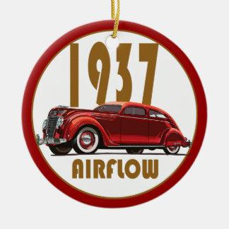 1937 AIRFLOW ROUND CERAMIC ORNAMENT