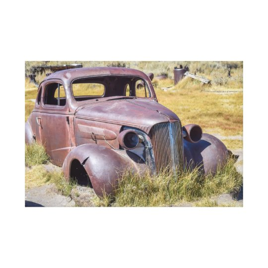 1937 Chevrolet Coupe Canvas Print