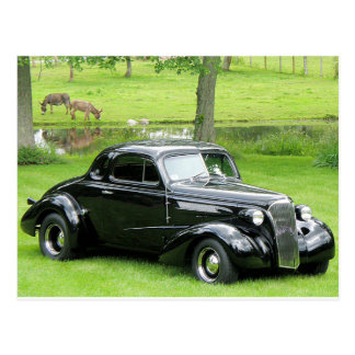 1937 Chevy Coupe Postcard