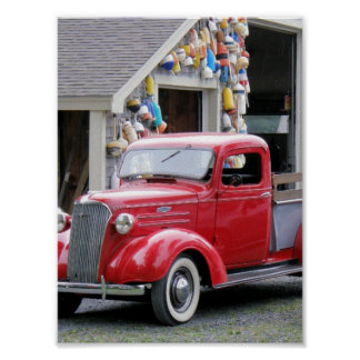 1937 Chevy Pickup Poster