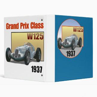 1937 Grand Prix Class W125 Vinyl Binder