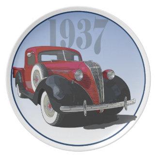1937 Hudson Terraplane Party Plates