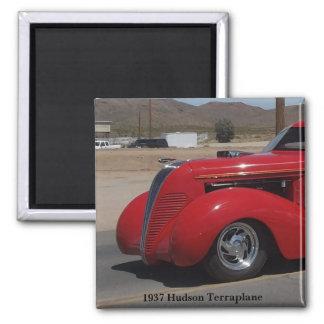 1937 Hudson Terraplane Square Magnet