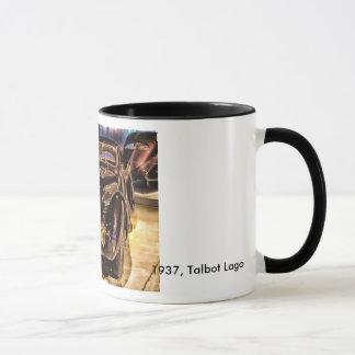 1937, Talbot Lago Classic Car Mug
