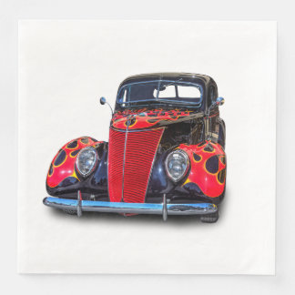 1937 VINTAGE CAR DISPOSABLE NAPKIN
