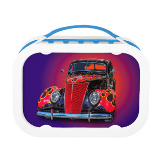 1937 VINTAGE CAR LUNCH BOX