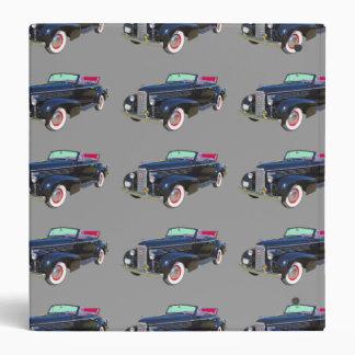 1938 Cadillac Lasalle luxury Car Vinyl Binder