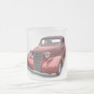 1938 CHEVROLET FROSTED GLASS COFFEE MUG