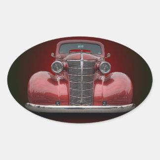 1938 CHEVROLET OVAL STICKER