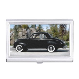 1939 Merc Mercury Coupe Vintage Classic Car Business Card Holder
