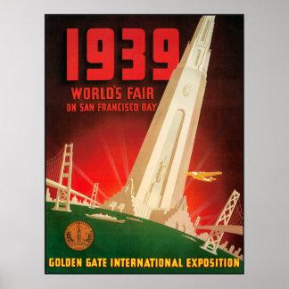 1939 San Fransisco Worlds Fair Poster