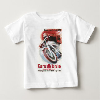 1939 Swiss National Motorcycle Racing Championship Baby T-Shirt