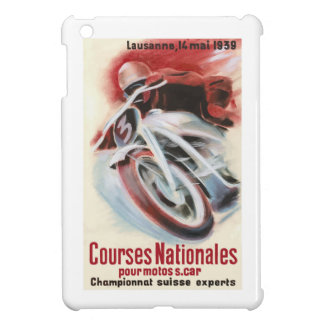 1939 Swiss National Motorcycle Racing Championship Case For The iPad Mini