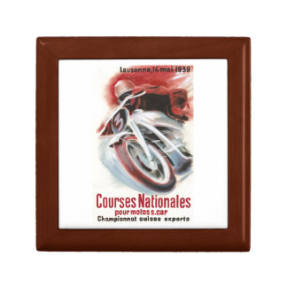 1939 Swiss National Motorcycle Racing Championship Gift Box