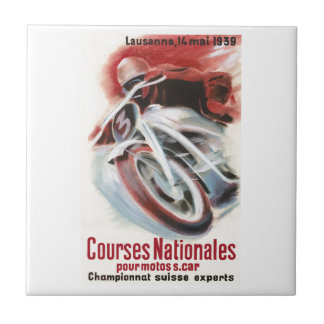 1939 Swiss National Motorcycle Racing Championship Tile