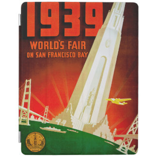 1939 World Fair San Francisco iPad Cover