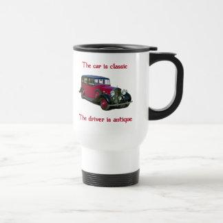 1939 Wraith Limo Classic Travel Mug