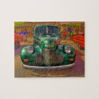 1940 CHEVROLET JIGSAW PUZZLE