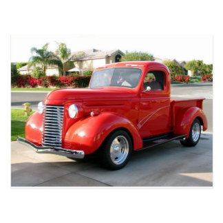 1940 Chevy Truck Postcard