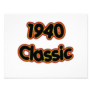 1940 Classic Custom Invitations