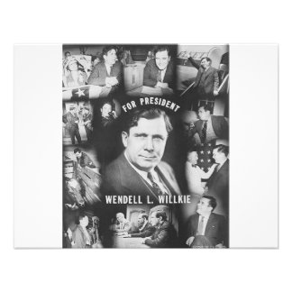 1940 Wendell Willkie Personalized Invites