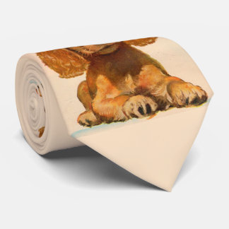 1940s cocker spaniel puppy - The Cutest in History Tie