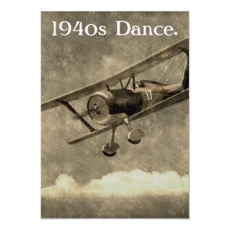 1940s Dance Invites