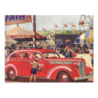 1940's Desoto Postcard