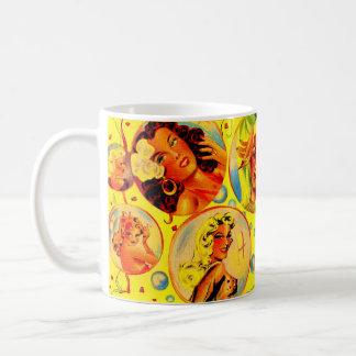1940s glamour girls coffee mug