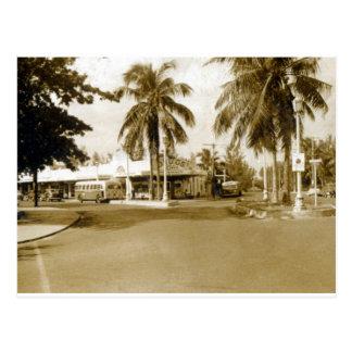 1940's Liles Drugs Postcard