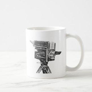 1940's or 1950's Broadcast Studio TV Camera Coffee Mug