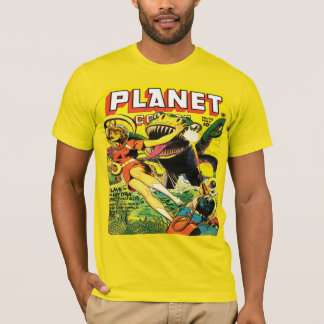 1940's PLANET COMICS SCI FI T-Shirt