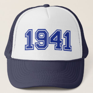 1941 Birthday Trucker Hat