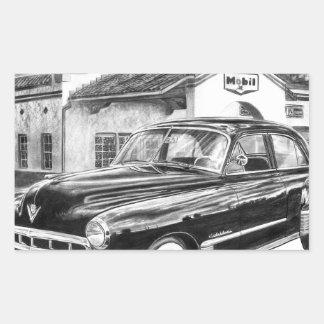 1941 Cadillac Rectangular Stickers