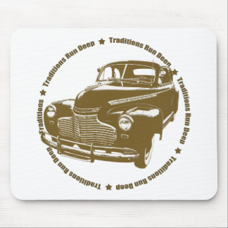 1941 Chevy Coupe Traditional Hot Rod Mouse Pad
