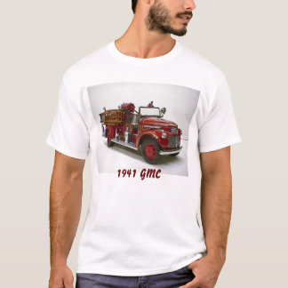 1941 GMC Fire Engine Pumper T-Shirt
