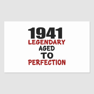 1941 LEGENDARY AGED TO PERFECTION