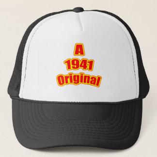 1941 Original Red Trucker Hat