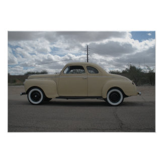 1941 Plymouth Business Coupe Poster