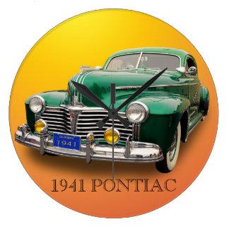 1941 PONTIAC WALLCLOCK