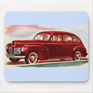 1941 red Mercury 8 Mouse Pad