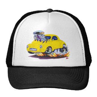 1941 Willys Yellow Car Trucker Hat