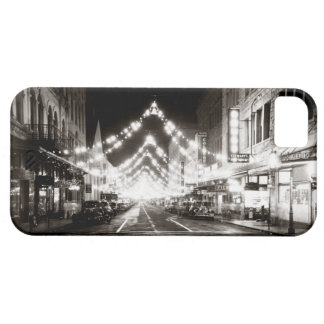 1942 Honolulu's Fort Street at Night iPhone 5 Covers