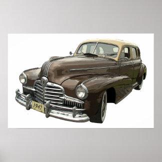 1942 Pontiac Poster