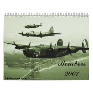 1944, Bombers 2007,  2006 James Harley Jr Calendar