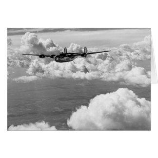 1944 Liberator Express in Flight Greeting Card