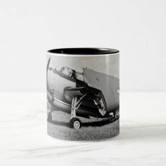 1945 Avenger Torpedo Bomber Two-Tone Coffee Mug